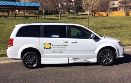 Southwest rides van