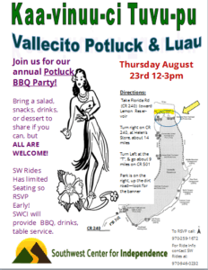 Vallecito Luau Picnic and Potluck! @ Vallecito | Bayfield | Colorado | United States