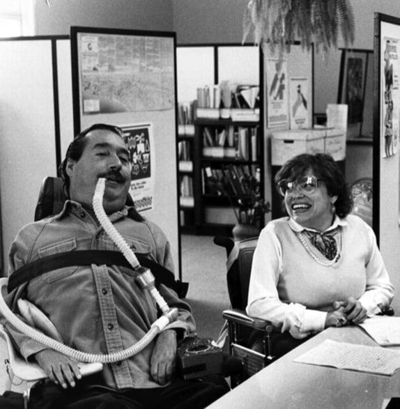 Ed Roberts & Judith Heumann