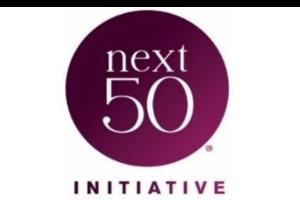 50 next initiative logo