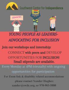 Young People as Leaders @ Zoom meeting