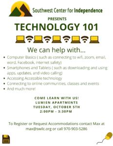 Tech Class Flyer