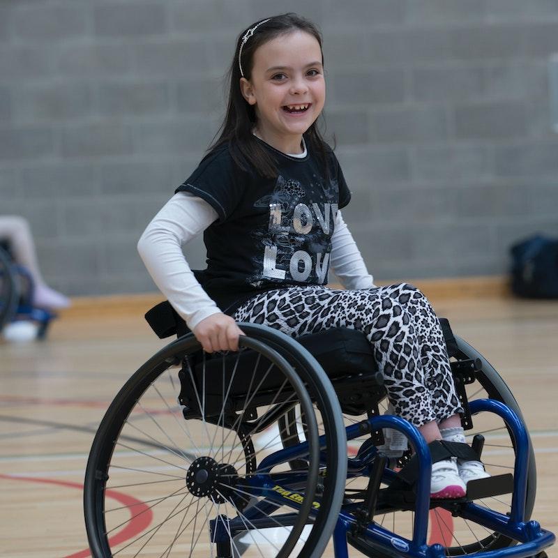 kid in wheelchair